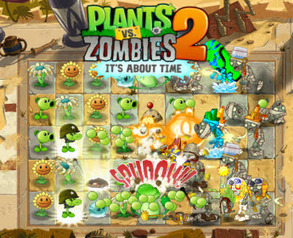 Plants VS Zombies 2: It's About Time Review: TabletGameReviews.com | Casual Games Reviews | Scoop.it