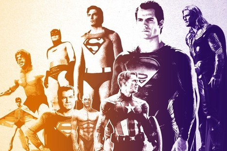 Superman, Batman, and the Evolution of the 'Perfect' Hero Body | Anthropometry and Kinanthropometry | Scoop.it