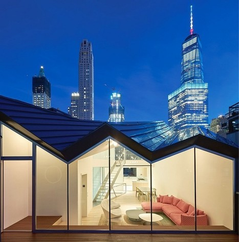Obsidian House in the Heart of TriBeCa / WORKac | Architecture and Interior Design | Scoop.it