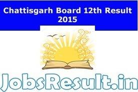 CGBSE Board 12th Result 2015 | Chattisgarh Intermediate Results on cgbse.net | JobsResult.in | Scoop.it