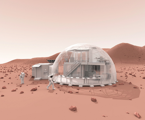 What It Could Be Like to Live on Mars | WIRED | Outbreaks of Futurity | Scoop.it