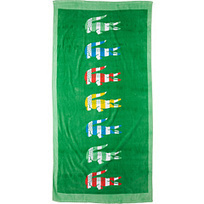 Lacoste Bayadere Beach Towel | stylish world | Scoop.it