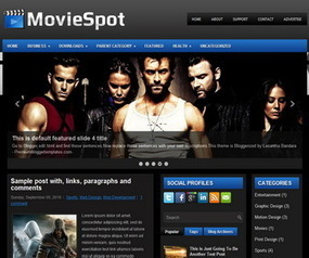 MovieSpot Blogger Template | Blogger Templates | Scoop.it