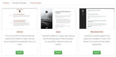 Créer un blog à partir d'un carnet Evernote | Evernote | Scoop.it
