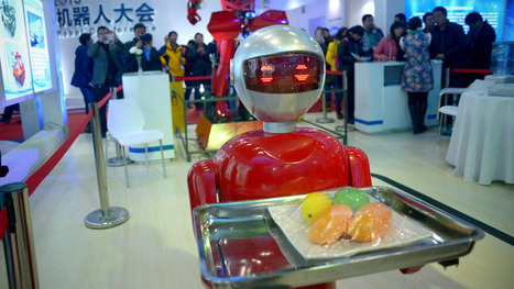 China wants robots to replace millions of low-paid workers | Mashable | Robotics | Scoop.it