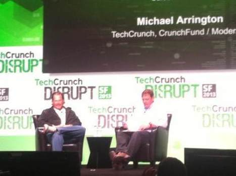 Marc Benioff at Disrupt: 'There would be no Salesforce without Steve Jobs' | Conseil CRM Salesforce.com | Scoop.it