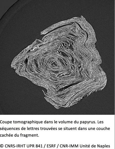 Les papyrus d'Herculanum livrent de nouveaux secrets | L'actu culturelle | Scoop.it
