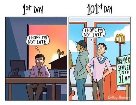 A quoi ressemblez-vous au bout du 101ème jour de travail ? - Mode(s) d'emploi   INDUSTRIE-ETRAVEwww.Entreprise-TRAVail -Emploi.com   Scoop.it