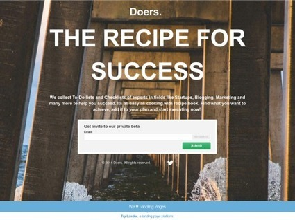 Doers.: Find a To-Do List for anything | Digital Collaboration and the 21st C. | Scoop.it