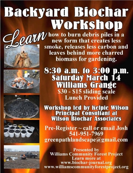 Backyard Biochar Workshop | BioChar | Scoop.it