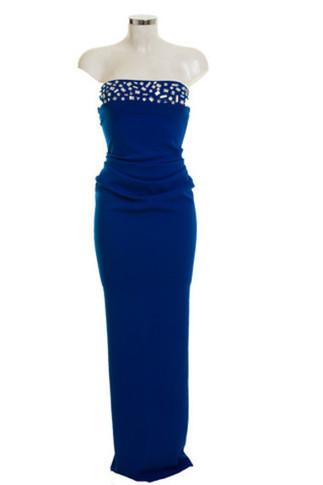 Strapless Darcy Blue | Women's Look | ASOS Fashion Finder | Ladies Fashion | Scoop.it