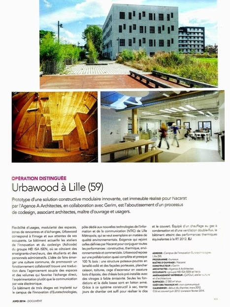 Les ADICODE à Urbawood : mention au concours AMO | ADICODE & Co | Scoop.it