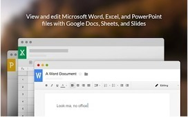 A Handy Google Drive App to View and Edit Office Files | Linguagem Virtual | Scoop.it