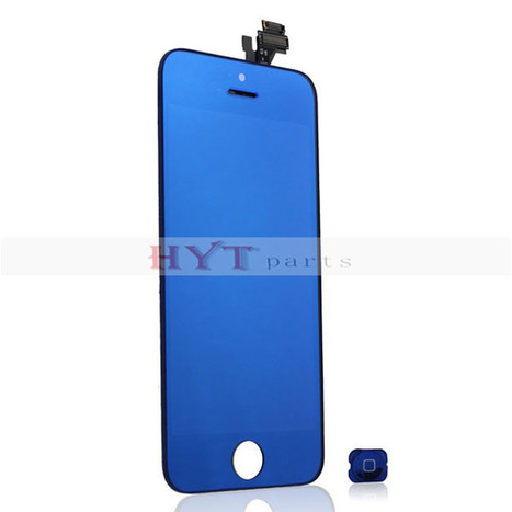 Replacement Parts LCD Display With Touch Screen Digitizer for iPhone 5 mirror blue | Fixing or DIY our cell phones by ourselves | Scoop.it