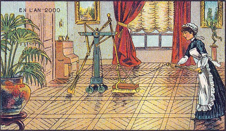 19th Century French Artists Predicted The World Of The Future In This Series Of Postcards | AprendiTIC | Scoop.it