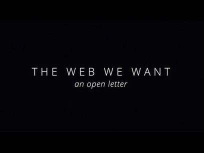 The Web We Want: An Open Letter – YouTube