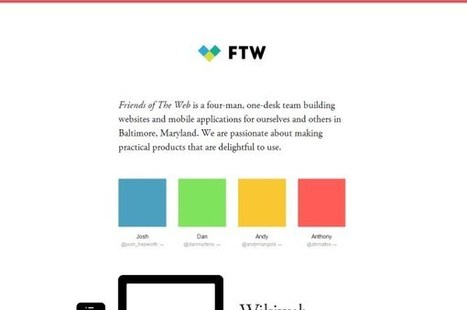 Hot, Flat, Colorful: 33 Examples of Ultra-Hot Flat Web Design Trend | Design | Scoop.it