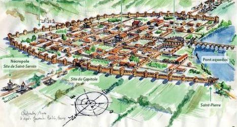 Voici comment vivait Tolosa, la romaine...   Ressources en ligne pour les collégiens   Scoop.it