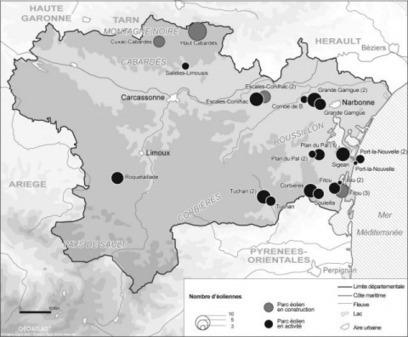 Intégration environnementale de l'éolien et régulation locale des conflits : l'action des collectivités territoriales dans l'Aude (France) (VertigO) | géographie des conflits | Scoop.it
