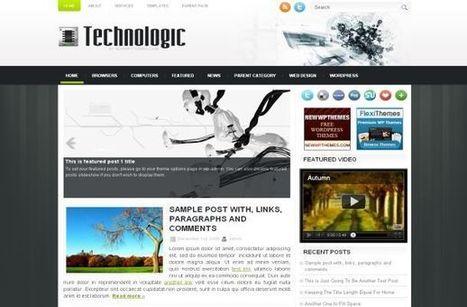 Gadgets Grey Jquery Free Wordpress Theme Template | vc | Scoop.it