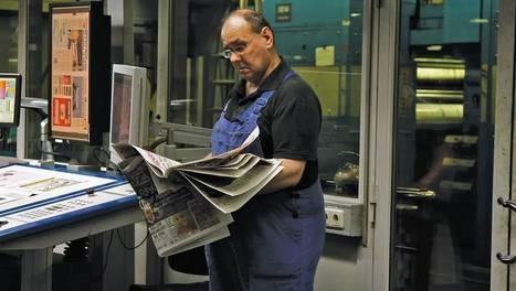 Presse : vers un monde sans papier ? | ARTE | Data journalisme | Scoop.it