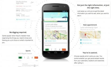 Google leads the way for apps that know what you want before you do | mobile communication | Scoop.it