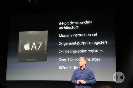 The real reasons Apple's 64-bit A7 chip makes sense | M-learning, E-Learning, and Technical Communications | Scoop.it