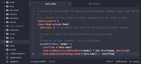 ATOM : un superbe éditeur de texte entièrement personnalisable et adaptable | TICE, Web 2.0, logiciels libres | Scoop.it