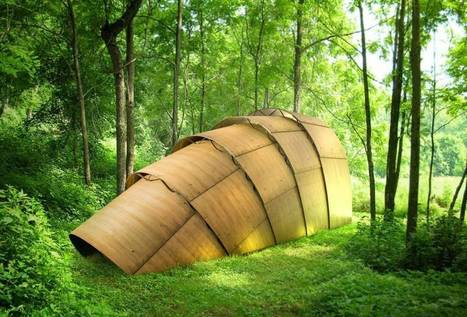 The Armadillo Tea Pavillon designed by Ron Arad | Landart, art environnemental | Scoop.it