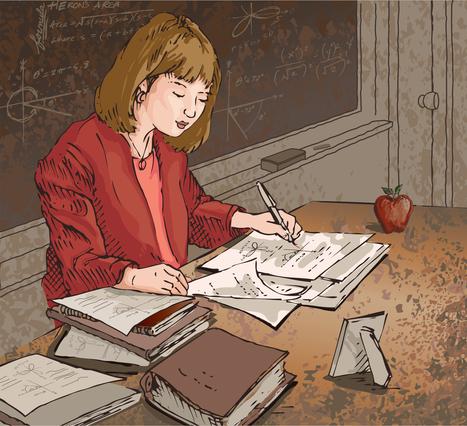 La jornada de una maestra   Colegios y Educación   Scoop.it