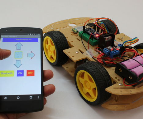 Smartphone Controlled Arduino Rover | Open Source Hardware News | Scoop.it