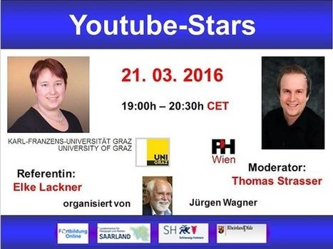 Globinars: Einladung zu kostenlosem Webinar: YouTube-Stars | Moodle and Web 2.0 | Scoop.it