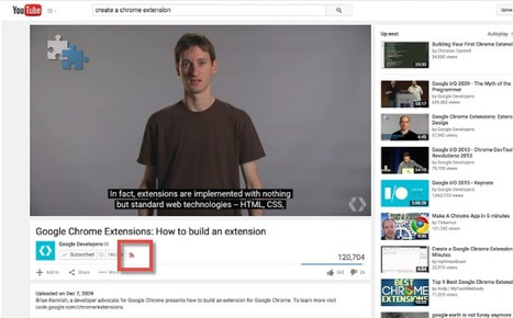YouTube RSS-ify : extension Chrome pour suivre Youtube avec les flux RSS | François MAGNAN  Formateur Consultant | Scoop.it