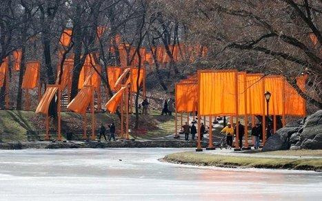 Christo Javacheff & Jeanne-Claude Denat: The Gates | Art Installations, Sculpture, Contemporary Art | Scoop.it