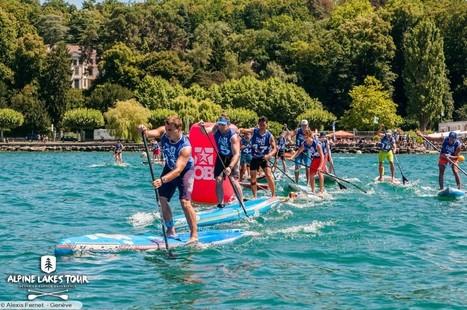 Résultats et premières photos Alpine Lakes Tour Genève | Stand up paddle | Scoop.it