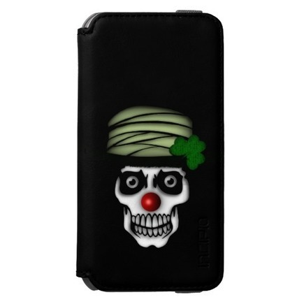 Irish Skeleton Clown Incipio Watson™ iPhone 6 Wallet Case | iPhone Cases | Scoop.it