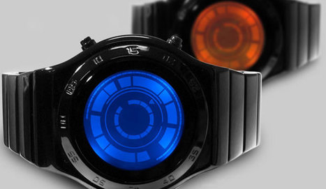 Watch Time Pass With An LED-Illuminated Circle of Blocks | Art, Design & Technology | Scoop.it