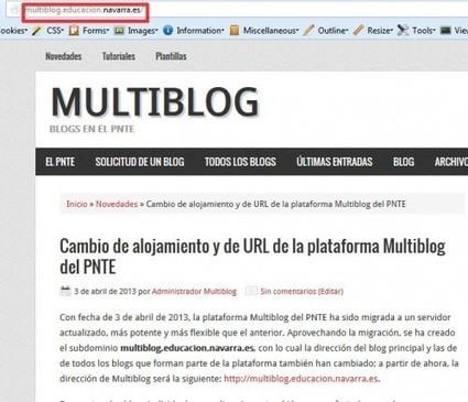 Cambio de alojamiento y de URL de la plataforma Multiblog del PNTE | ORIENTARTE | Scoop.it