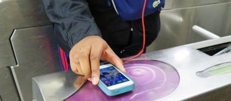 Dans le métro, vous allez payer avec votre smartphone | Actu et Tendances Tourisme | Scoop.it
