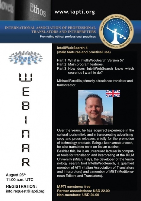 Webinar I for the International Association of Professional Translators and Interpreters | IntelliWebSearch | Scoop.it