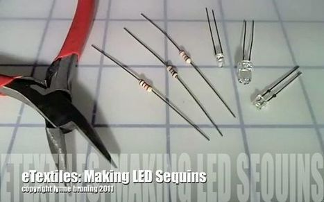 How-To videos for eTextiles,  soft circuits and wearable computing | Physical Computing | Scoop.it