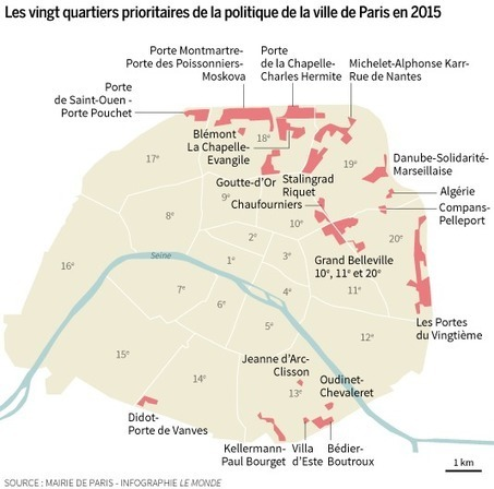 Le plan d'Anne Hidalgo pour les quartiers pauvres de Paris | Ressources en Géographie | Scoop.it