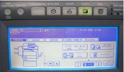 Utilisation du scanner intégré aux copieurs Toshiba e-STUDIO [UFR EILA] | actualités logiciels | Scoop.it