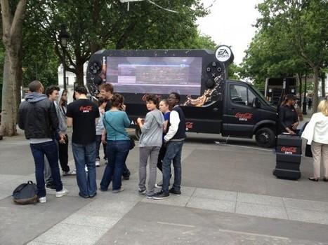 Coca Cola Zero lance son nouveau roadshow gaming | streetmarketing | Scoop.it
