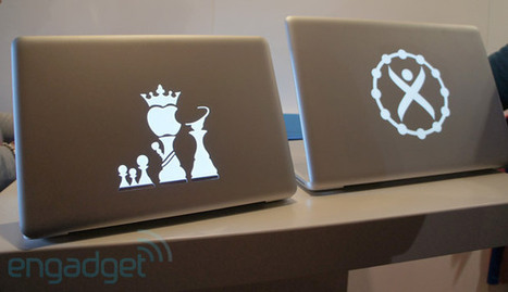 Uncover gives your MacBook's lid a new, Apple-less kind of glow | Hipsters | Scoop.it