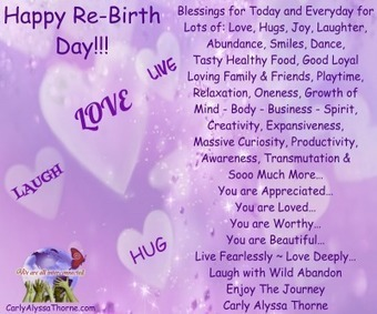 Happy ReBirth Day | Mind, Body, Spirit Connection | Scoop.it