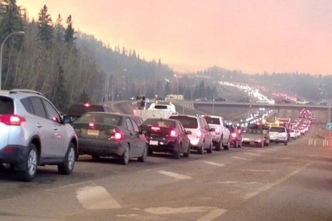 Canada fire in Fort McMurray whole city evacuate   The Univers News - Latest Online News   Scoop.it