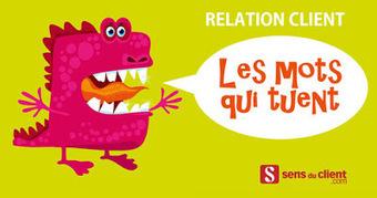 Les mots qui tuent la relation client (première partie) | Centre des Jeunes Dirigeants Belgique | Scoop.it