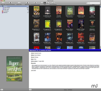 """Download Book Hunter for Mac - Catalog and organize your book collection. MacUpdate.com   """"#Google+, +1, Facebook, Twitter, Scoop, Foursquare, Empire Avenue, Klout and more""""   Scoop.it"""