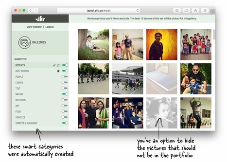 Create a Beautiful Photography Website in Minutes - Digital Inspiration | Web tools to support inquiry based learning | Scoop.it